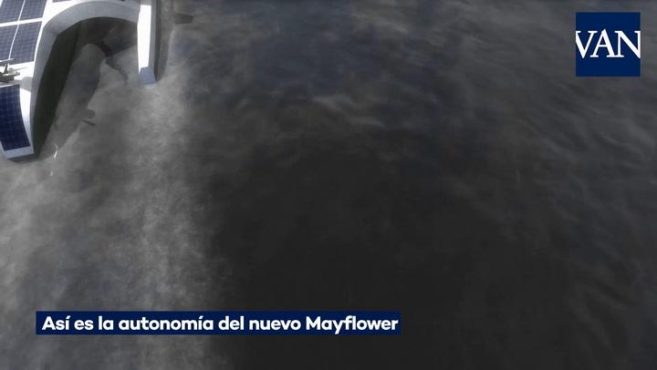Así es la autonomía del nuevo Mayflower