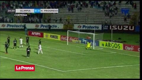 Olimpia 4 - 0 Honduras Progreso (Liga Nacional)