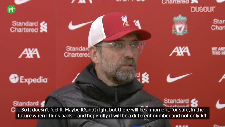 Klopp hails Liverpool's incredible home record