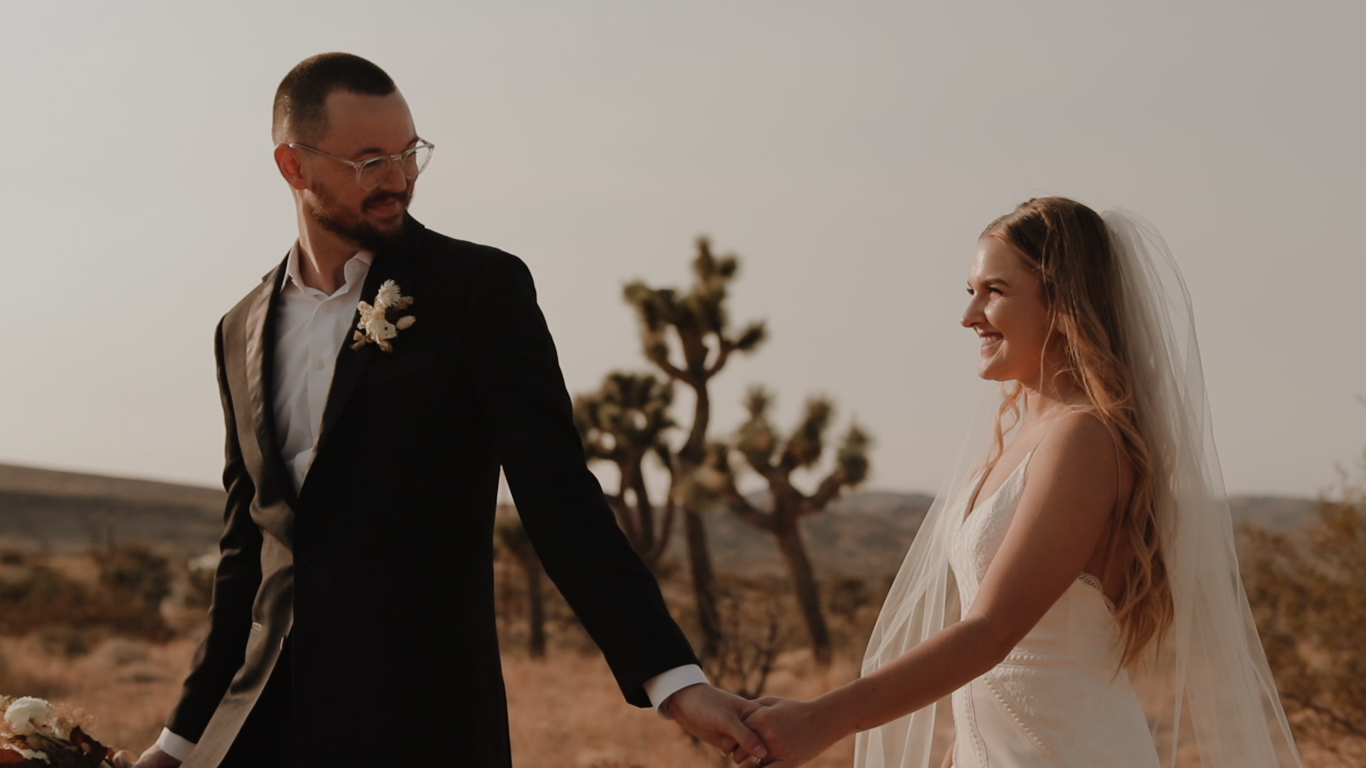 Angela + Josh | Joshua Tree, California | Desert Sage House