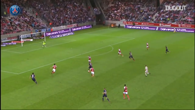 Last five Paris Saint-Germain Ligue 1 opening goals