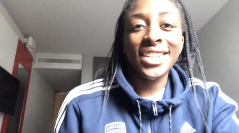Nneka Is Thankful For Her Teammate
