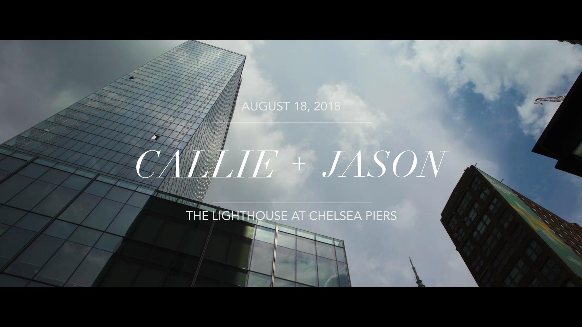 Callie + Jason | New York, New York | The Lighthouse at Chelsea Piers