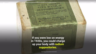 10 radioactive products that were once the 'norm'