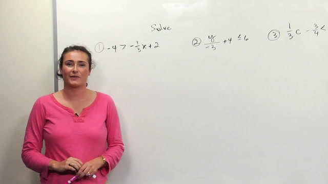 how to solve inequalities with 2 variables