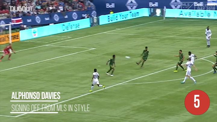 MLS Top Five Moments of 2018