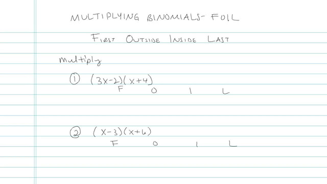 Multiplying Monomials and/or Binomials and FOIL - Problem 4