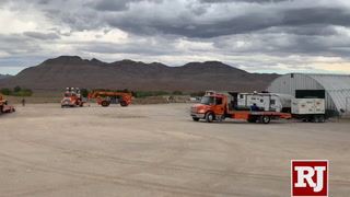Getting ready for events near Area 51 in Nevada – VIDEO