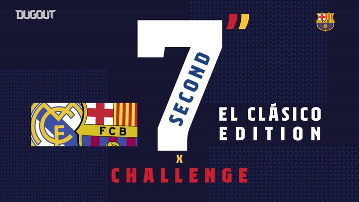 Seven Second Challenge: De Jong vs Griezmann