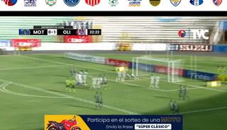 Óscar García empató para Motagua. 1-1 el clásico ante Olimpia