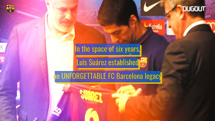 Luis Suárez's unforgettable FC Barcelona career