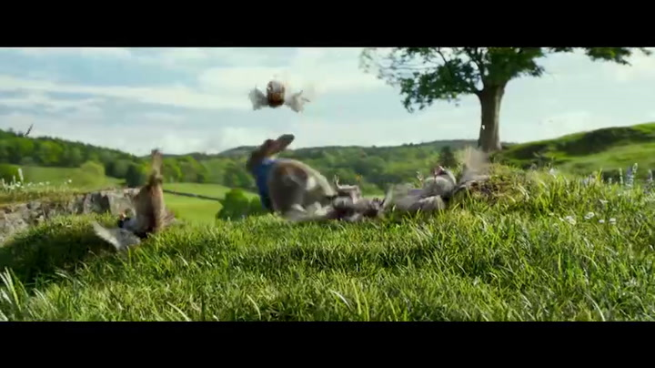 Featurette ('James Corden as Peter Rabbit')