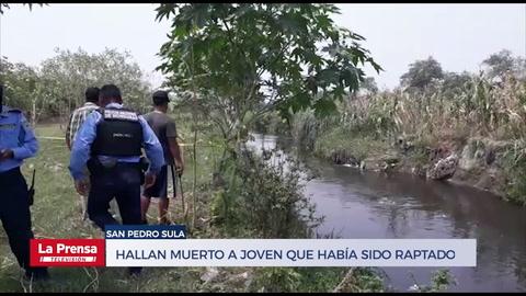 Hallan muerto en San Pedro Sula a uno de los dos primos que habían sido raptados