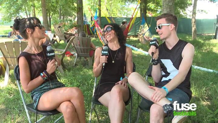 Festivals: Bonnaroo 2013: Matt and Kim Are Going to Do a Sex Tape