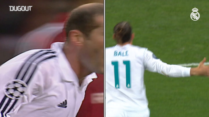 Battle of the UCL Final Goals: Zidane vs Bale
