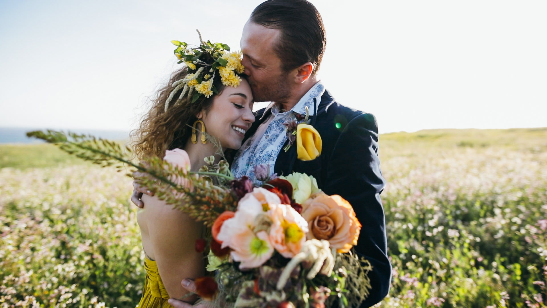 Kiira + Stevee | Santa Cruz, California | a beach