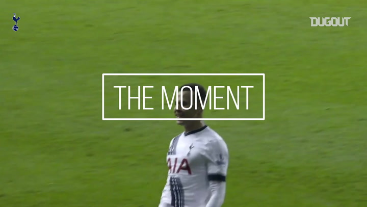 The Moment: Dele Alli's First Goal At White Hart Lane