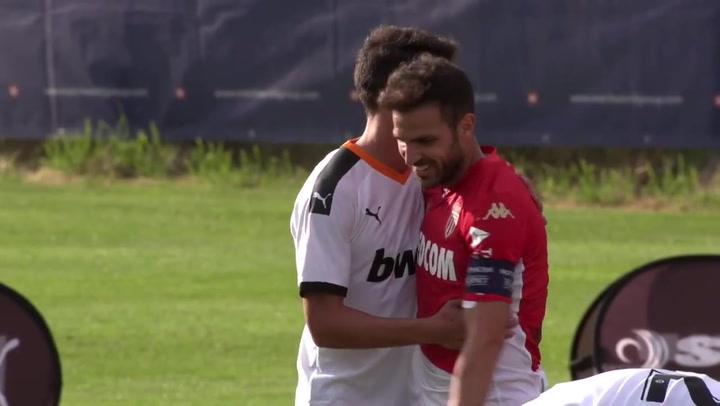 Un Valencia sin rodaje cae ante el Mónaco (0-1)