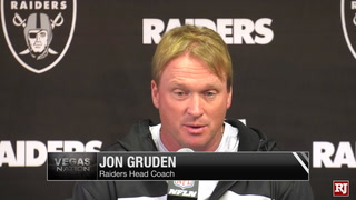 Gruden on GM Reggie McKenzie's firing