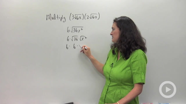 Multiplying and Distributing Radical Expressions - Problem 1