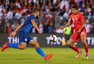 Perú y Estados Unidos empatan en partido amistoso