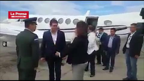 JOH llega a Guatemala para estudiar un plan migratorio