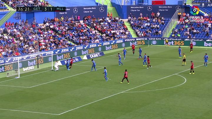 Gol de Budimir (3-2) en el Getafe 4-2 Mallorca