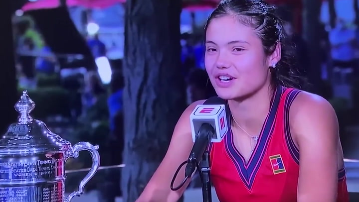 Emma Raducanu wants to buy a 'new pair of AirPods' after US Open win