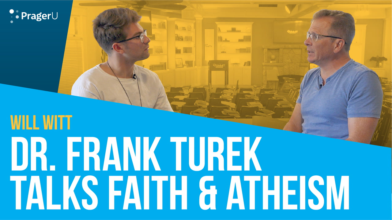 Dr. Frank Turek Talks Faith & Atheism with Will Witt
