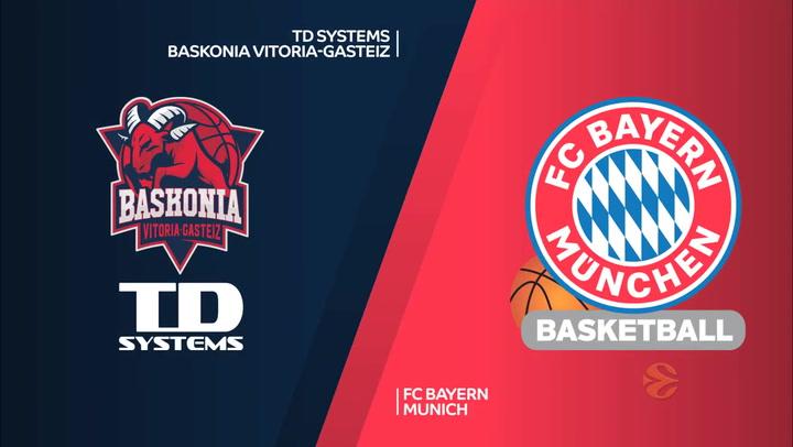 Euroliga TD Systems Baskonia Vitoria-Gasteiz - FC Bayern Munich