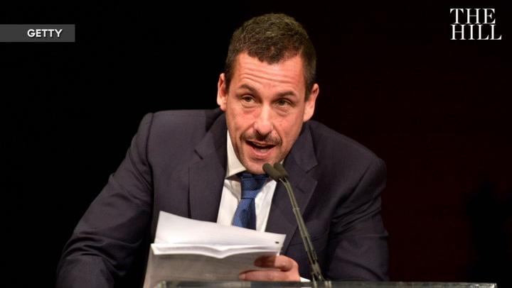 Adam Sandler's 'Opera Man' returns to 'SNL' to mock 'I make-a the wall' Trump