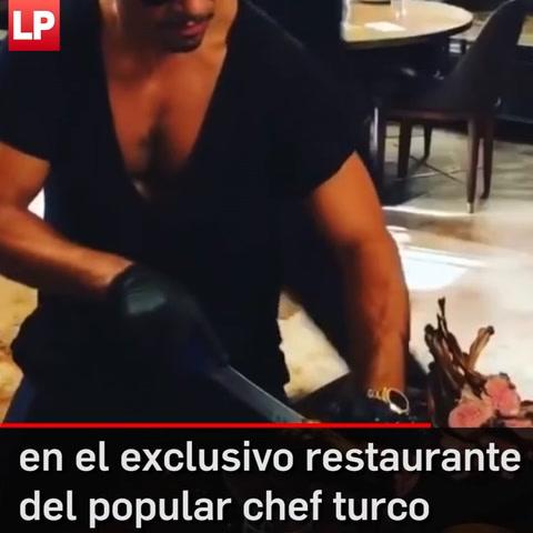 Presidente Nicolás Maduro visita restaurante del famoso chef
