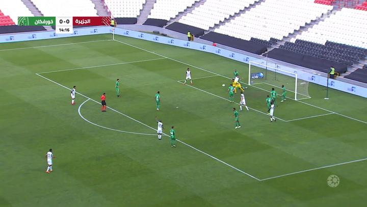 Arabian Gulf League: Al Jazira 0-1 Khor Fakkan