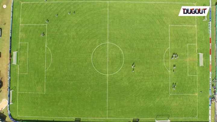 Drone View of our Austria Training