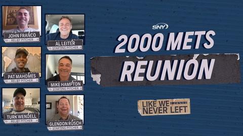 The 2000 New York Mets get back together