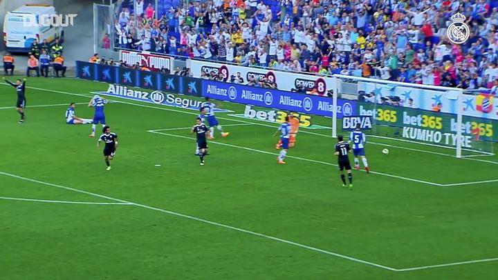 Marcelo marca contra o Espanyol após assistência de CR7