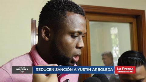 Reducen Sanción A Yustin Arboleda