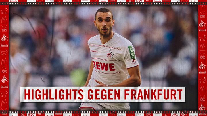 Highlights Eintracht Frankfurt - 1. FC Köln (2021 - 2022)