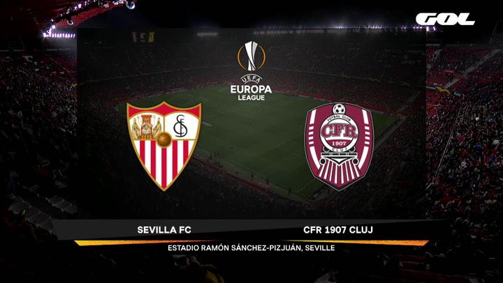 Europa League: Sevilla-Cluj