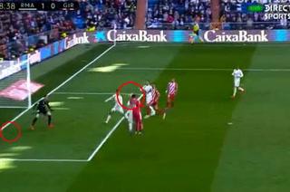 Thibaut Courtois evita gol de Choco Lozano contra el Real Madrid