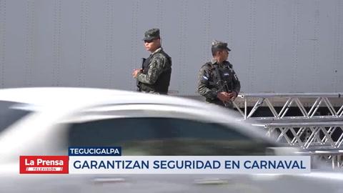 Garantizan seguridad en carnaval