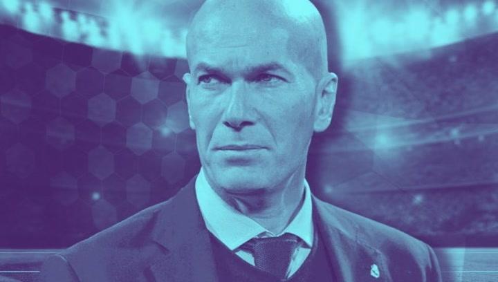 Zinedine Zidane uno de los técnicos más exitosos con el Real Madrid