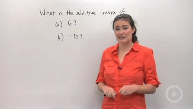 Additive and Multiplicative Inverses - Problem 1