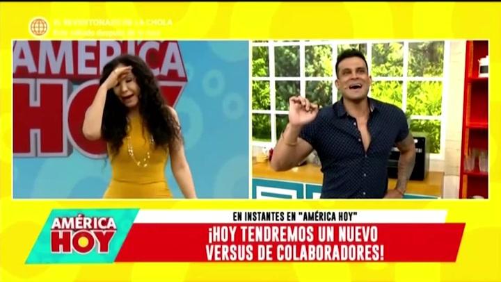"""Christian Domínguez le manda 'chiquita' a Janet Barboza: """"Tengo a mi lado a la conductora de televisión que más me quiere"""""""
