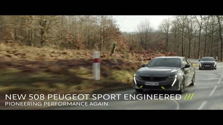 Nuevo Peugeot 508 PSE, deportivo y eficiente