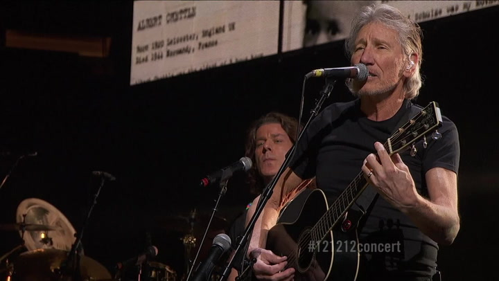 """Roger Waters Performs """"Another Brick in the Wall Pt. 2"""" - 12-12-12 The Concert for Sandy Relief"""