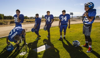 Football coach talks about team in McDermitt – Chase Stevens