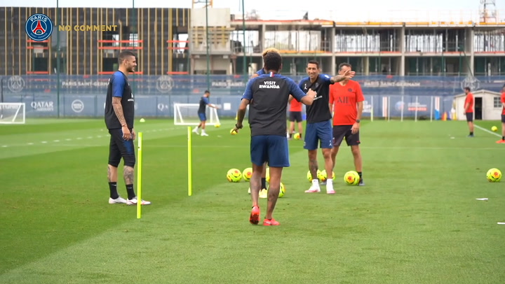 Watch PSG's best moments of the week at the training ground