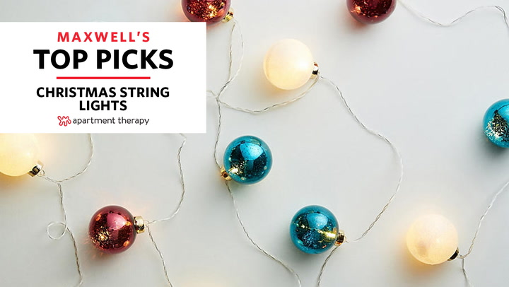 Best Christmas Lights - LED String Lights | Apartment Therapy