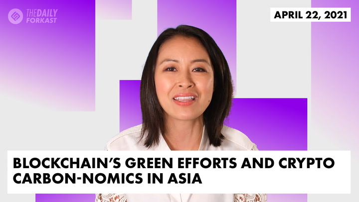 Blockchain's Green Efforts and Crypto Carbon-Nomics in Asia